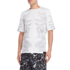 this is not clothing Birds of Paradise V Tee White 8502-9727