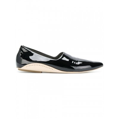 Marsèll pointed toe ballerina shoes VERNICENERO Patent Leather 100% MW443116660