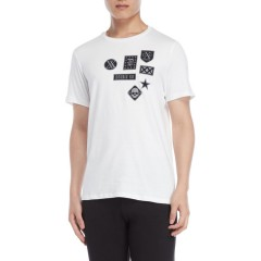 double x london Medea Tee White 8502-3615
